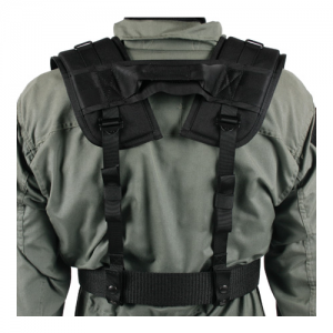 Special Operations H-Gear Shou  Special Operations H-Gear Shoulder Harness, Black, .375  closed cell foam compressed between two heavy-duty layers of 1000 denier, Fully adjustable and attaches to any belt up to 2.25  wide, Heavy-duty drag handle