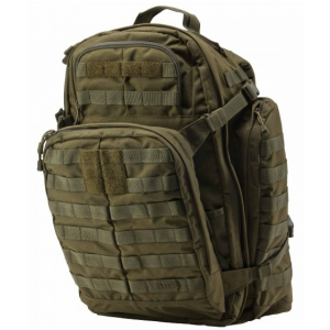 5.11 Tactical Rush 72 Waterproof Backpack in OD Green - 58602