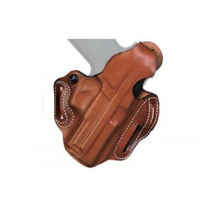 """Desantis Gunhide 1 Thumb Break Scabbard Right-Hand Belt Holster for Smith & Wesson M&P in Black Leather (4"""") -"""