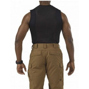 5.11 Tactical Sleeveless Men's Holster Shirt in Black - Medium