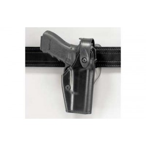 Safariland 6280 Level 2 Right-Hand Belt Holster for Glock 17, 22, 19, 23 in STX Black Tactical (W/ M3) - 6280-832-131