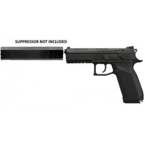 "CZ P-09 9mm 19+1 4.53"" Pistol in Black Polycoat - 91640"