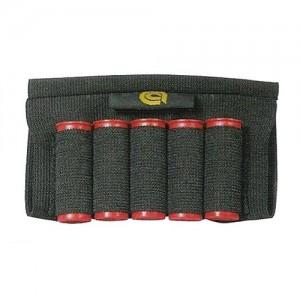 Allen Company Buttstock Cartridge Holder Shell Pouch in Black Textured Nylon - 205