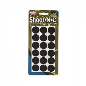 "Birchwood Casey 15 Pack 1"" Self Adhesive Round Targets 34115"