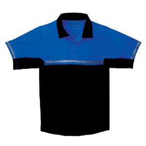 5.11 Tactical Bike Patrol Men's Short Sleeve Polo in Royal Blue - Small