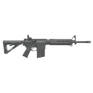 "Bushmaster XM-15 Mid-Length MOE .223 Remington/5.56 NATO 30-Round 16"" Semi-Automatic Rifle in Black - 90827"