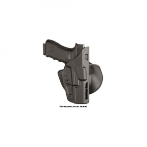 7378 ALS Open Top Concealment Paddle Holster Finish: STX Plain Gun Fit: H&K VP9 Hand: Right - 7378-593-411