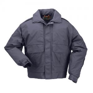 5.11 Tactical Signaure Duty Men's Full Zip Jacket in Dark Navy - X-Large