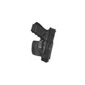 Don Hume Jit Slide Holster, Fits Walther P22, Right Hand, Black Leather J966627r - J966627R