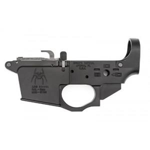 Spike's Tactical Stls920 9mm Glock Style Lower W/spider Logo, Semi-automatic, Black Finish, Bolt Locks Back After Last Round Stls920