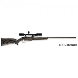 """Browning A-Bolt .300 Winchester Short Magnum 3-Round 28"""" Bolt Action Rifle in Stainless Steel - 35190248"""