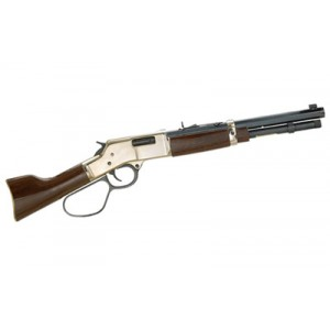 "Henry Repeating Arms Mare's Leg .357 Remington Magnum/.38 Special 5+1 12.9"" Pistol in Brass - H006MML"