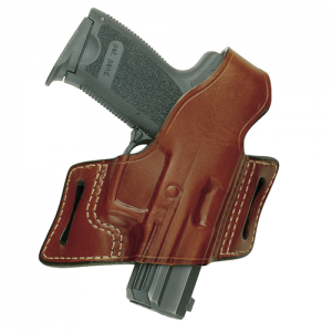 Aker Leather 132 White Lighting Left-Hand Belt Holster for Sig Sauer P220 in Black - H132BPRU-SS 220