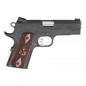 """Springfield 1911 .45 ACP 6+1 4"""" 1911 in Aluminum Alloy (Range Officer Compact) - PI9126LP"""