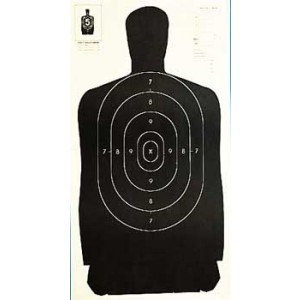 """Champion Traps & Targets Police Silhouette Target, 24""""x45"""", Silhouette, 100/pack 40727"""