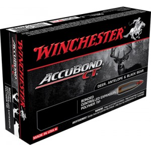 Winchester 7mm Winchester Short Magnum AccuBond CT, 140 Grain (20 Rounds) - S7MMWSMCTA