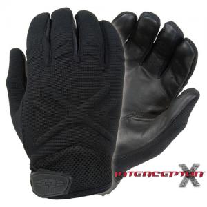Interceptor X - Medium Weight Duty Gloves Color: Black Size: XX-Large