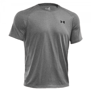 Under Armour Tech Men's T-Shirt in True Gray Heather - Small