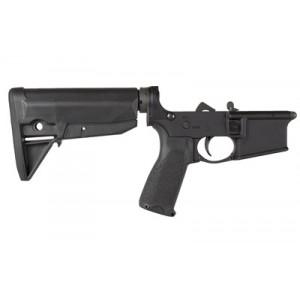 Bravo Company Bcm, Pistol Lower Group With Receiver, 9mm, Aluminum Frame, Black Finish, Bcmgunfighter Pistol Grip Lrg-pistol