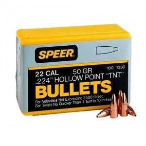 Speer 22 Cal 45 Grain Spitzer 100/Box 1023