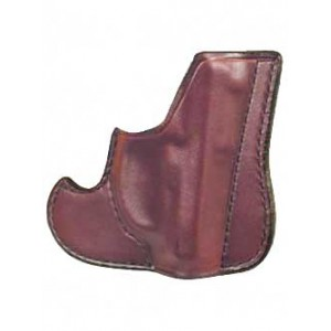 Don Hume 001 Front Pocket Holster, Fits Glock 26/27/30, Ambidextrous, Brown Leather J100145r - J100145R