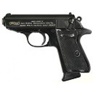 """Walther PPK/S .380 ACP 7+1 3.35"""" Pistol in Blued - VAH38005"""