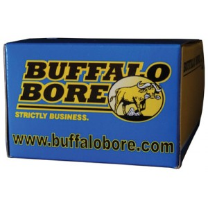 Buffalo Bore Ammunition .357 Sig Sauer Jacketed Hollow Point, 125 Grain (20 Rounds) - 25A/20