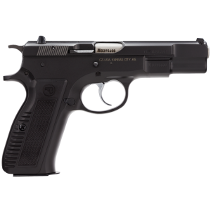 "CZ 75 B 9mm 16+1 4.7"" Pistol in Black (Retro) - 91117"