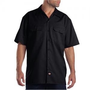 Dickies Work Shirt Men's Uniform Shirt in Black - X-Large