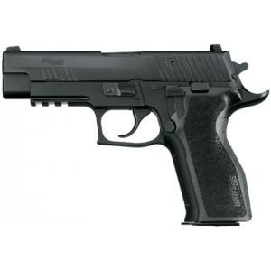"Sig Sauer P226 Full Size Enhanced Elite 9mm 15+1 4.4"" Pistol in Black Nitron (SIGLITE Night Sights) - E26R9ESE"