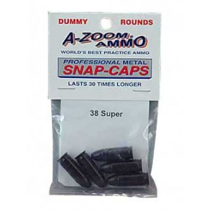 A-zoom Snap Caps, 38 Super, 5 Pack 15158
