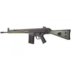 "PTR91 PTR-GI .308 Winchester/7.62 NATO 20-Round 18"" Semi-Automatic Rifle in Parkerized - GI915300"