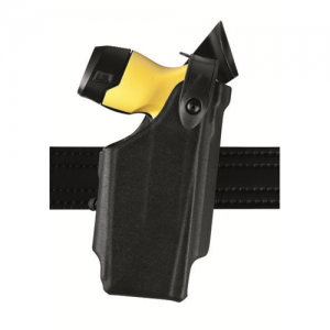 SLS EDW Level II Retention Duty Holster w/ Clip Finish: Plain Gun Fit: Taser X26 Hand: Left Option: No Hood - 6520-64-62
