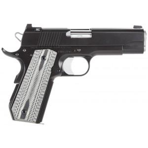 """Dan Wesson Valor 9mm 9+1 4.25"""" 1911 in Matte Black (V-Bob) - 01871"""