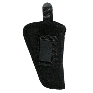 "Uncle Mike's Sidekick Ambidextrous-Hand Belt Holster for Small Autos (.22-.25 Cal.) in Black (6"") - 21152"