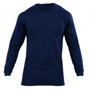 5.11 Tactical Utili-T Men's Long Sleeve Shirt in Dark Navy - Medium