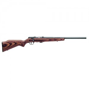"""Savage Arms Mark II BTV .22 Long Rifle 5-Round 21"""" Bolt Action Rifle in Stainless Steel - 25795"""