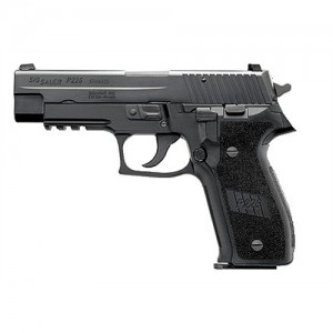 "Sig Sauer P226 Full Size .40 S&W 12+1 4.4"" Pistol in Black Nitron (Decocker) - E26R40B"