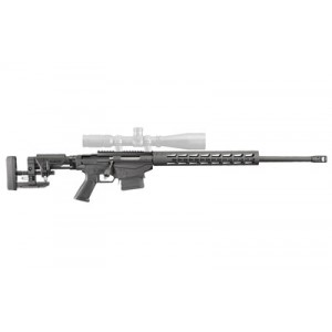 """Ruger Precision Rifle, Bolt Action, 6mm Creedmoore, 26"""" Cold Hammer Forged Threaded Barrel, 1:7.7 Right Hand Twist, Anodized Finish, Short Action Handguard, Ar Style Grip, Ruger Marksman Adjustable Trigger, 2 Magazines, 10 Rounds 18016"""