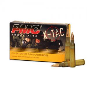 PMC Ammunition X-Tac 5.56X41 Full Metal Jacket, 55 Grain (1000 Rounds) - 556X