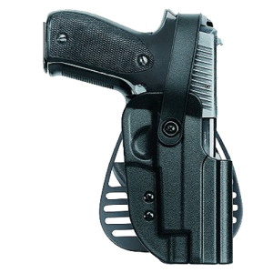 Uncle Mikes 56121 Kydex Paddle Holster 5612-1 12 Black Kydex - 56121