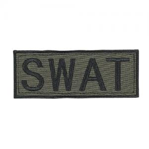 Law Enforcement Patches  Color: OD Green 9  x 4 1/8  Patch Logo: SWAT