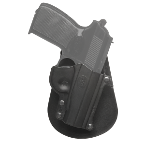 Fobus USA Paddle Right-Hand Paddle Holster for Llama Micromax 380/Makarov 9x18, 360 in Black - MAK1