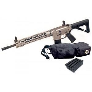 "KE Arms USM4 Mode 3 .223 Remington/5.56 NATO 30-Round 16"" Semi-Automatic Rifle in NP3 Nickel Teflon Coated - 1-56-05-400"