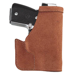 "Galco International Pocket Protector Right-Hand Pocket  Holster for Smith & Wesson J-Frame in Natural (2"") - PRO158"