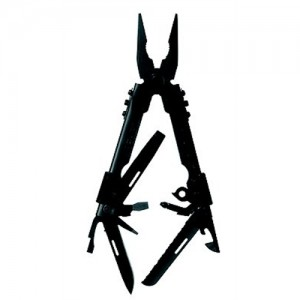 Gerber Needle Nose Multi-Plier w/Black Stainless Steel Handle & Sheath 07550