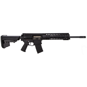 "Patriot Ordnance Factory P308 AR-10 .308 Winchester/7.62 NATO 20-Round 16.5"" Semi-Automatic Rifle in Black - 272"