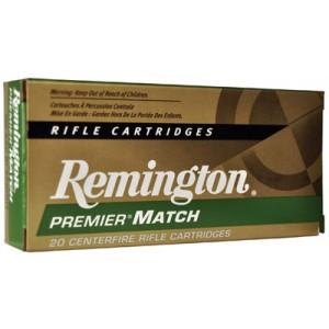 Remington Premier .300 AAC Blackout Match King Boat Tail Hollow Point, 125 Grain (20 Rounds) - 102459