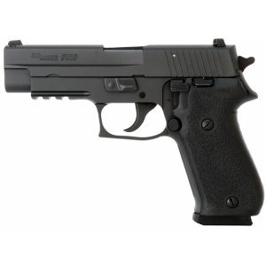 "Sig Sauer P220 Full Size MA Compliant .45 ACP 8+1 4.4"" Pistol in Black Nitron (4 Point Safety) - 220RM45B"