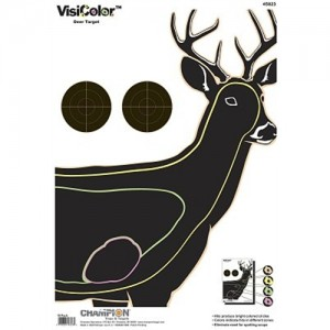 "Champion 10 Pack 8"" Deer Targets 45823"